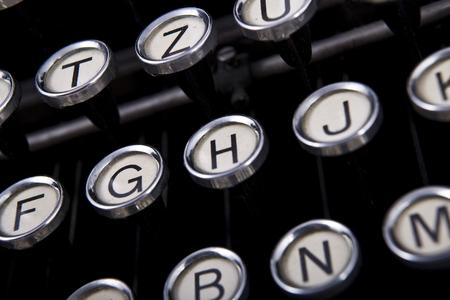 exceeded: old vintage typewriter