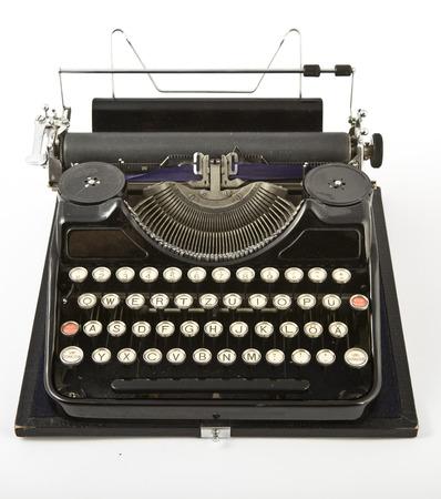 exceeded: Old vintage typewriter Stock Photo