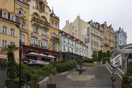 vary: Karlovy Vary in Czech Republic