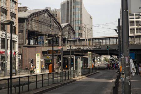 frederick street: Around the station Friedrichstrasse in Berlin, Germany