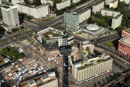 turism: Berlin Panorama aerial view