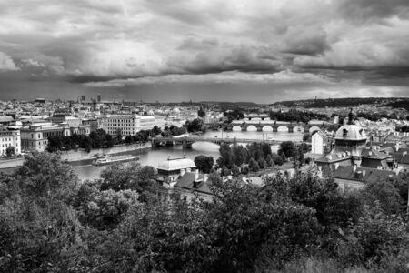 czech republic: Cityscape Prague, Czech Republic