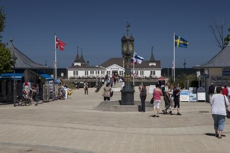 greifswald: Ahlbeck at the Baltic Sea on Usedom Island, Mecklenburg- Vorpommern, Germany
