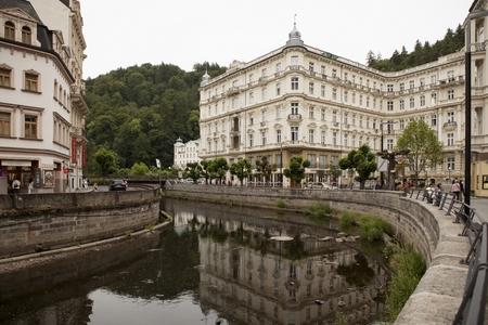 karlovy: Karlovy Vary in Czech Republic