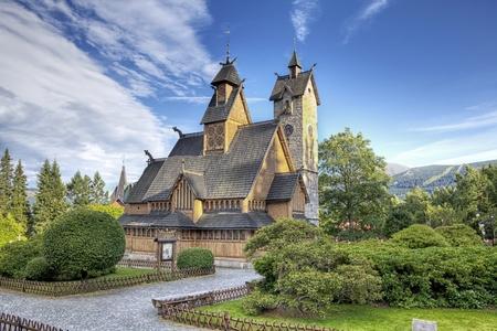 wang: Historic wooden temple Wang in Karpacz, Poland