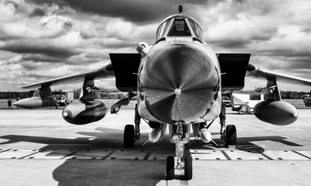 jointly: The Panavia Tornado is a family of twin-engine, variable-sweep wing combat aircraft, which was jointly developed and manufactured by Italy, the UK, and Germany.