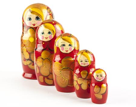 matrioshka: Matrioshka dolls or babushkas