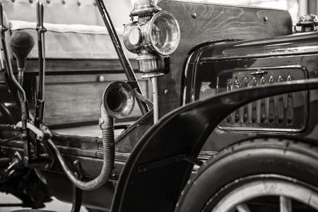predecessor: old vintage car