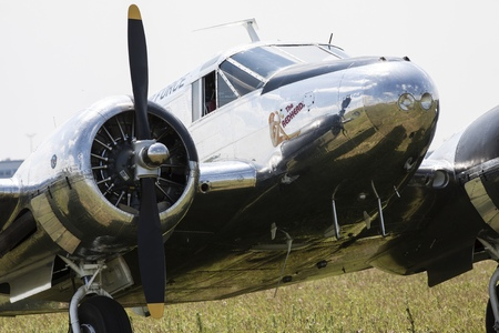 american beech: Beechcraft C45 Twinbeech is a six to 11-seat, twin-engined, low-wing, light tailwheel aircraft manufactured by the Beech Aircraft Corporation of Wichita, Kansas