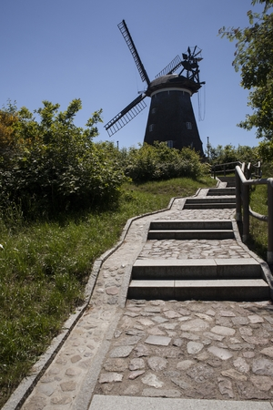 The Dutch windmill in Benz, Germany