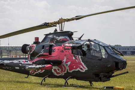 manufactured: The Bell AH-1 Cobra is a two-blade, single engine attack helicopter manufactured by Bell Helicopter.