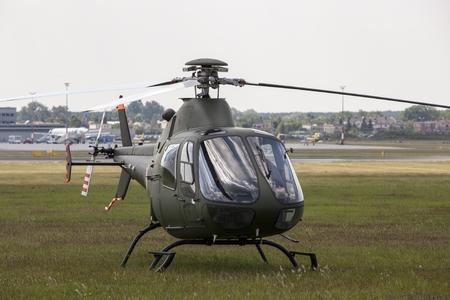 PZL Swidnik SW-4 Tawny display during Air Show in Poznan. Krzesiny air base.