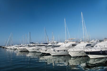 Port and harbor in Saint-Tropez