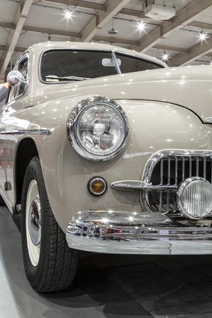 old polish car Editorial