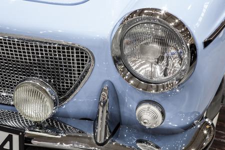 old Retro and vintage  swedish car