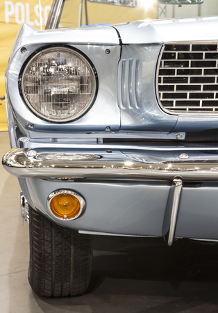 Old Car on display at the International Fair