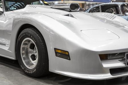 white sports car Editorial