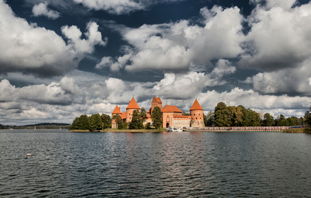Trakai Island Castle in Lithuania, Europe