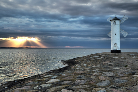 Swinoujscie in Poland is one of the most beautiful towns on the Baltic Sea, Europe