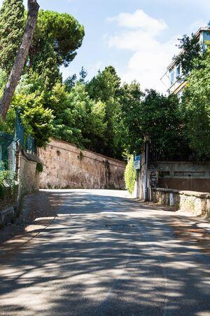 broken hill: Narrow streets of Rome, Aventine