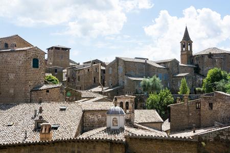 オルヴィエートの街並み、イタリア