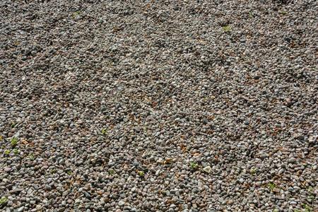 macadam: Gravel texture