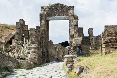 archaeological: Pompeii ruins, Italy