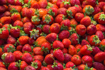 vitamin rich: Pile of strawberries