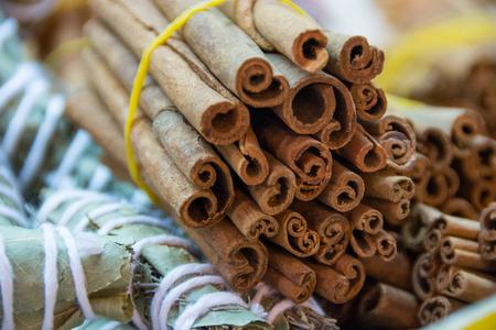 christmas grounds: Cinnamon sticks