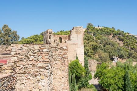 Old medieval castle walls Reklamní fotografie - 96172817