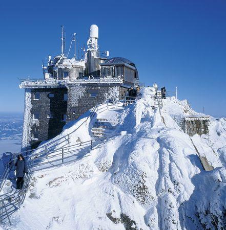 snowbound: lomnicky peak, High Tatras, Slovakia