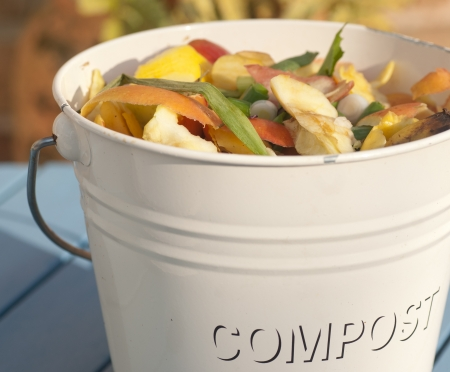compost: Compost Bucket Stock Photo