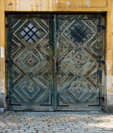 symetry: Old Double Door