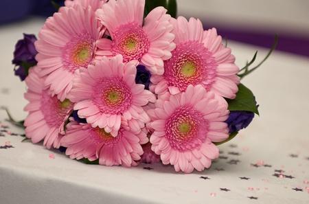 Pink Wedding Gerbera Blumen