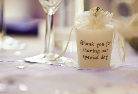 Wedding Table Decoration Stock Photo - 22024682