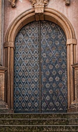 Ornamental Metalltür