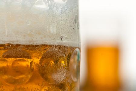 Close up of beer mug Standard-Bild