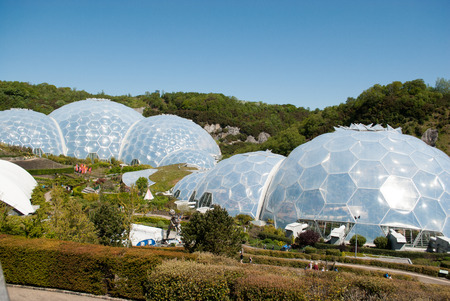 Eden Project Biomes Editorial