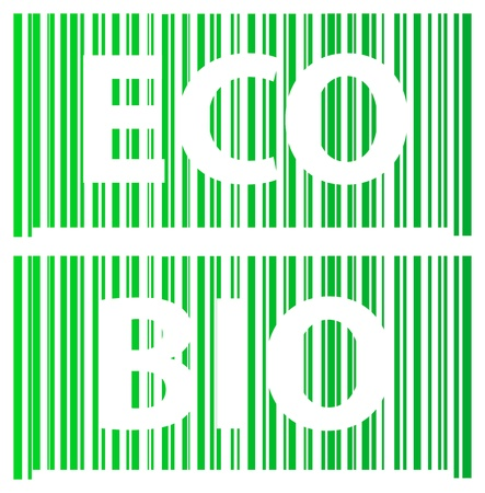 Ecology Barcode Vector