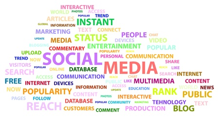 Social Media Words Vector