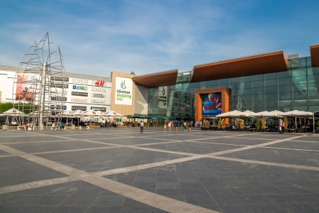 Baneasa Shopping City In Bucharest, Romania Stock Photo - 18171725