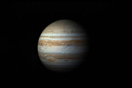 3D High Quality Model Of Planet Jupiter photo