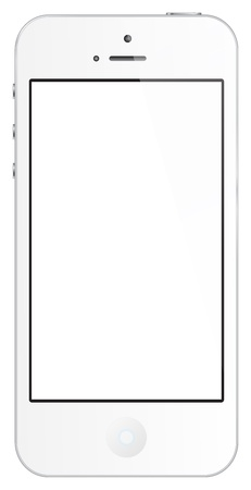 The New Iphone 5 Isolated On White