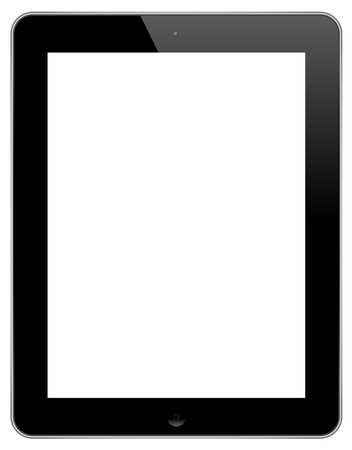 digitized: The New iPad Isolated On White