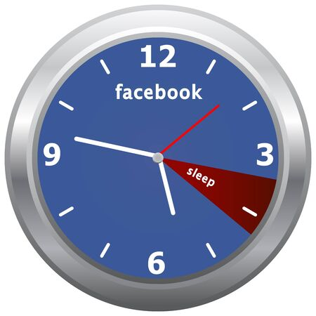 addiction: Facebook Addiction, All Day On Facebook and Only An Hour Of Sleep