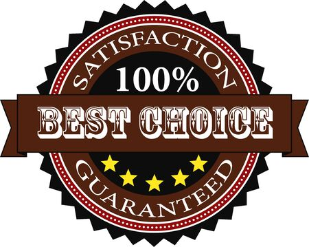 Satisfaction Guaranteed Badge Vector