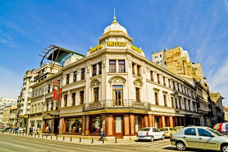 Casa Capsa is a historic restaurant in Bucharest, Romania, first established in 1852. At various times it has also included a hotel; most recently, it reopened as a 61-room five star hotel on 17 June 2003. The restaurant stands on Calea Victoriei. Stock Photo - 18322246