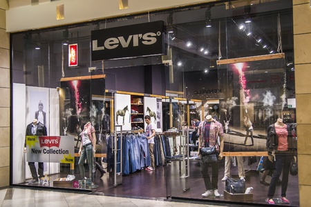 Levis Store View In Cotroceni Mall, Bucharest