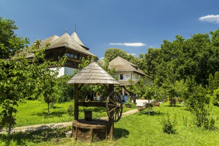 Dimitrie Gusti National Village Museum In Bucharest, Romania  The Village Museum  Muzeul Satului in Romanian  is an open-air ethnographic museum located in the Herastrau Park showcasing traditional Romanian village life
