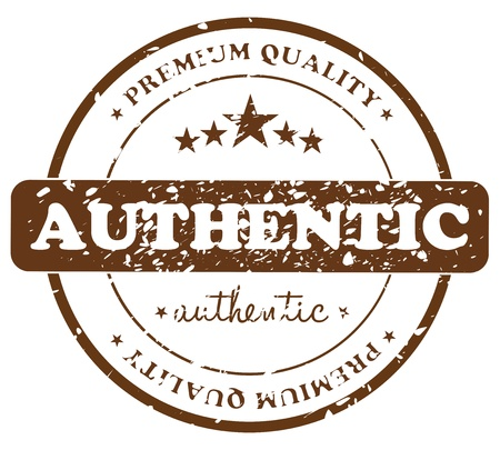 Authentic Product Stamp Badge Stock Vector - 18593996